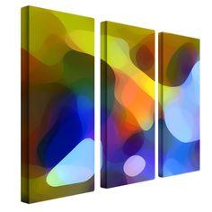 Dappled Light and Shade by Amy Vangsgard Painting Print 3 Panel Art Set