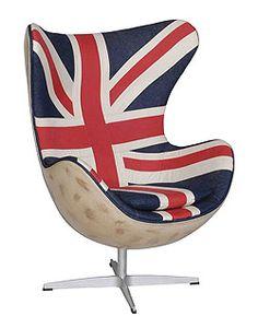 Arne Jacobsen's Egg Chair, Customized by Andrew Martin