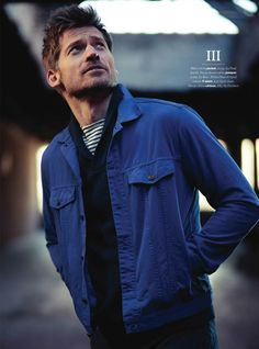 Nikolaj Coster-Waldau - inspiration for Mads. When his furniture designs become favourites with interiors trend scouts, his newfound fame takes him away from his family more often than he likes.