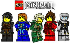 Lego ninjago #500 by MaylovesAkidah on DeviantArt<<<<I love the ones with the ones with the new Zane, not saying I don't like the old Zane, but sill I love how easily and willingly the fandom adjusted.