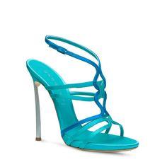 SATIN Sandal by Casadei