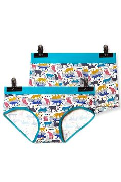 Animal Printed Couple Matching Underwear - Trame. Pinklouds 1a20560e1