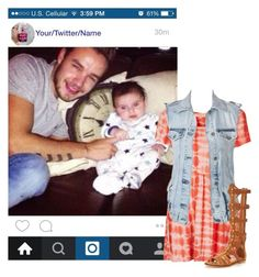 """""""Instagram with Liam (husband)"""" by kateremington-1 ❤ liked on Polyvore featuring Payne, Oh My Love, VILA and KG Kurt Geiger"""