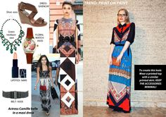 Trend: Print On Print.   Prints all the way! The Label Women show you the perfect look with prints this season.