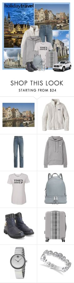 """""""Ghent Travel Outfits"""" by dgia ❤ liked on Polyvore featuring Patagonia, Eve Denim, Acne Studios, MICHAEL Michael Kors, John Fluevog, Movado, Durango, Allurez and Hermès Sale! Up to 75% OFF! Shop at Stylizio for women's and men's designer handbags, luxury sunglasses, watches, jewelry, purses, wallets, clothes, underwear & more!"""