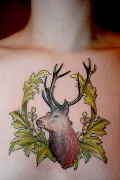 Hunting Tattoo - Antlers