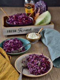 Coleslaw, Salad Dressing, Salad Recipes, Cabbage, Salads, Gluten Free, Cheese, Fresh, Vegetables