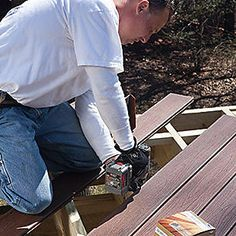 Looking for a project to tackle this weekend? Visit trex.com for several resources on DIY decking.