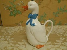 B&D Japan Ceramic Duck Pitcher by SETXTreasures on Etsy