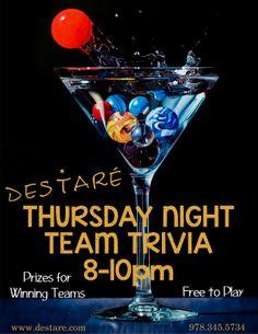 Team Trivia for Destare