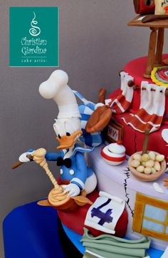 Donald Duck Cooking Disasters Cake.jpg