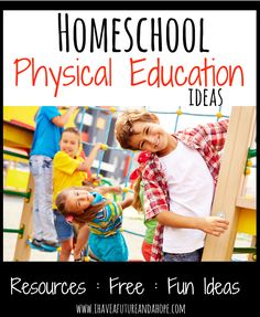 Homeschool P.E. (Physical Education): 31 Days of Homeschool Supplies: