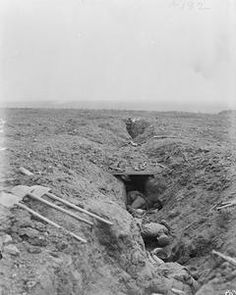 WW1, 15 Sept 1916, Somme, Battle of Flers-Courcelette. German dead in their…
