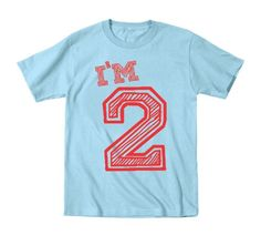 Im 2 Years Old Birthday Baby Shirt 24 Months Baby Blue ** Details can be found by clicking on the image.