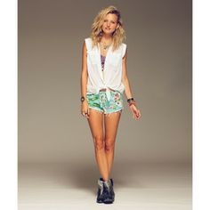 Lite Hearted- Tropic Denim Shorts | Billabong US love this outfit