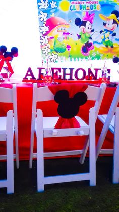 Mickey Mouse party