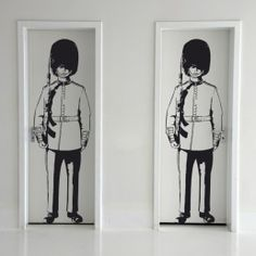 Queen's Guard - Wall Decals