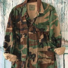 11bbb3544565 We have discounted the price on these vintage camo jackets ❤