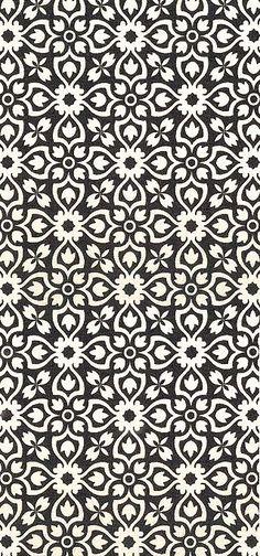 kasser til sort eller grå reol. flot sort/hvidt mønster fra http://equilter.com