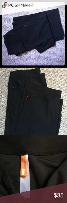 """Lucy Everyday Pants Black NWT! 32"""" waist. 32.5"""" inseam.  So comfortable. Clean lines for work or leisure!!  Size L. Tall.  Fits like a 12 easy. Very stretchy opaque material.    New without Tags.  Pristine Condition!! Lucy Pants"""