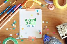 The Creative Place: a card a day: june daily challenge