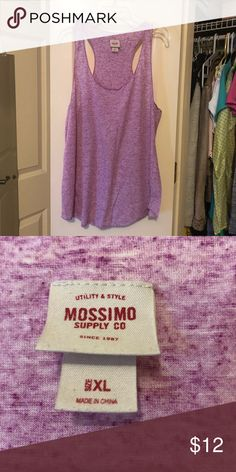 6d905f518c9af Heather tank top Gently worn heather purple tank top from mossimo supply  co. Great condition. More information