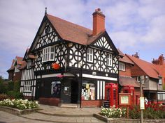 Port Sunlight, Wirral, England ... Home of Lever Soap.