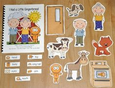 "This Gingerbread Man Free Activity, ""I Had a Little Gingerbread"" is an adapted song book.  Adapted Song Books teach and review common vocabulary words through hands-on interaction and support language and literacy through song.Students will sing a re-telling of the ""Gingerbread Man"" and match story pieces to each page as the teacher or therapist moves through book."