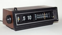 Retro Clock Radio - I can still hear the sound of the alarm, which sounded like a dying bird!