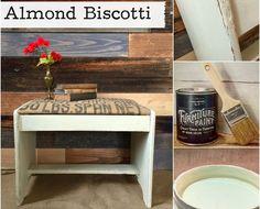 No Prep Furniture Paint ~ Almond Biscotti
