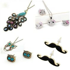 Tons of cute jewelry for really cheap!