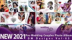 Fully Editable Creative Photo Album 12x36 PSD Templates