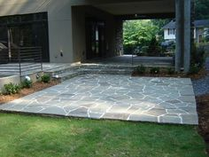 Residential Landscaping - modern - patio - atlanta - by Botanica Atlanta | Landscape Design-Build-Maintain