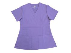 NEW Ultra Soft Scrub Top with 2 side pockets,also available with 1 chest pocket made of highest quality Poly/Rayon 77/23 super soft and gentle on the skin www.smileyscrubs.com #softscrubs #cheapscrubs #bluescrubtops #scrubtops Discount Scrubs, Cheap Scrubs, Scrub Sets, Soft And Gentle, V Neck, Pockets, Tops, Women, Fashion