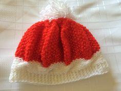 Hand knitted hat  Girls Hat  Kids Gift  Handmade by MarianaPandi