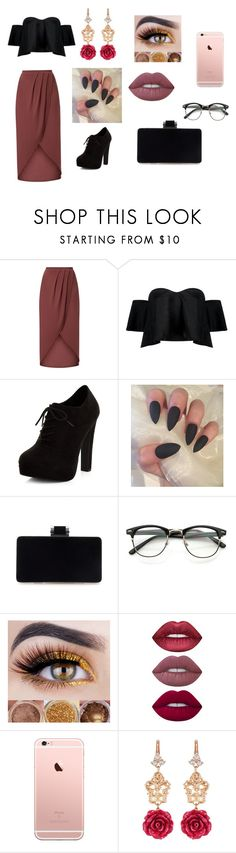 """Date night (Woman)"" by chloe950 ❤ liked on Polyvore featuring Boohoo, New Look, Lime Crime and Dolce&Gabbana"
