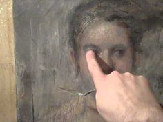 Odd Nerdrum Technique - FINGER PAINTING A HEAD!! - YouTube