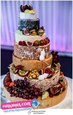 @Peterkay_co_uk will love this a cake made of cheese but this is the real stuff proper cheese not that soft sweet stuff. An ideal wedding cake the the couple that love cheese,