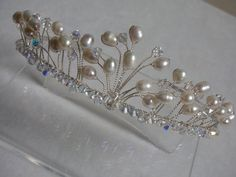 SALE 30% reduced Bridal Hair Accessories by LornaGreenTiaras
