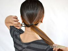 Straighten Your Hair Without Heat - wikiHow