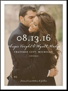 Save The Date for Yami and Brandon's Wedding - 8/1/2015