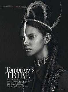 Marina Nery by Sebastian Kim for Vogue Australia