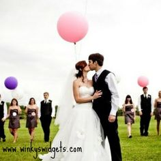#large #pink #wedding #balloons #90cm are available at Winky's Widgets