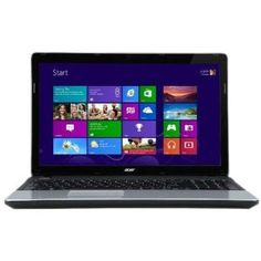 Acer Aspire E1 15.6-inch Laptop (Black/Silver) - (Intel Pentium B960 2.2GHz, 4GB RAM, 500GB HDD, Integrated Graphics, Windows 8 64-bit): Amazon.co.uk: Computers & Accessories