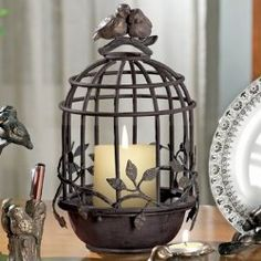 Adorable! Perfect for any Mom. Bird Cage Candleholder