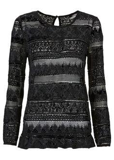 lace longsleeve shirt <3