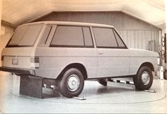 OG | 1970 Range Rover Mk1 | Full-size mock-up dated 1966-67
