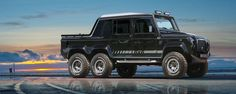 this Icon Defender 6x6 could definitely be the  answer to Mercedes-Benz's G63 AMG 6x6...