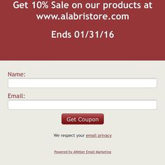 Promotions Promotions Promotions Our store is offering a 10% sale of the entire catalog. Get your coupon here: http://ift.tt/1SkJ7ga