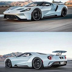 The Ford GT first captured the hearts and minds of many drivers around the world in the A mid-engine, two-seater sports car produced by Ford Ford Motor Company, Car Best, Alpha Romeo, Ford Gt 2017, Exotic Sports Cars, Exotic Cars, Roadster, Ford Classic Cars, Sweet Cars